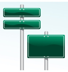 direction sign vector image