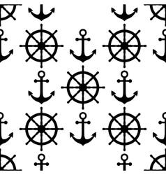 Marine background Sea theme Cute seamless vector image
