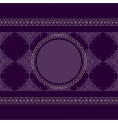 seamless vintage eastern style pattern with lacy f vector image vector image