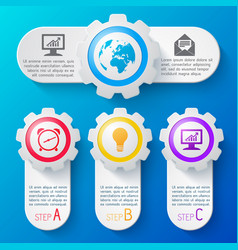 business banners set vector image