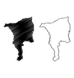 Ciales municipality commonwealth puerto rico vector