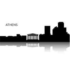 Cityscape athens vector