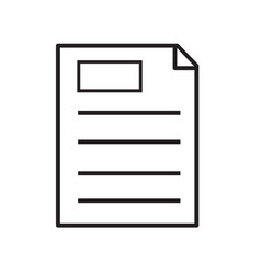 clipboard icon on white background clipboard vector image