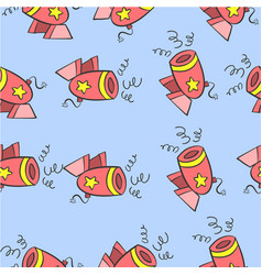 element circus pattern style collection vector image vector image