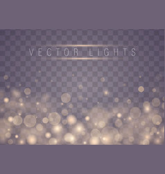 light abstract bokeh vector image