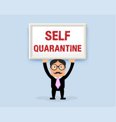 quarantine-001 vector image