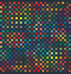 Seamless abstract pixel print vector