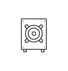 server icon simple element server concept symbol vector image