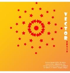 star web icon flat design vector image