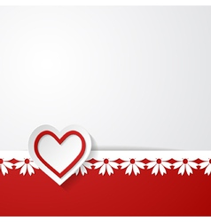 Wedding invitation or a Valentines card vector