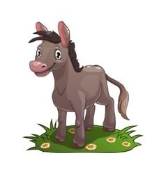 Donkey vector image vector image