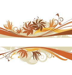 graphic banner design vector image vector image