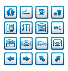 car services vector image