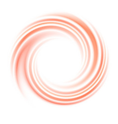 Abstract circle swirl background with space vector image vector image