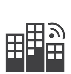 wi-fi connection design vector image