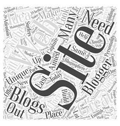 a great idea for a blogging web site is no longer vector image