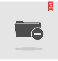 Add Folder icon Eps 10 vector image