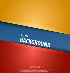 cut paper background 3 vector image