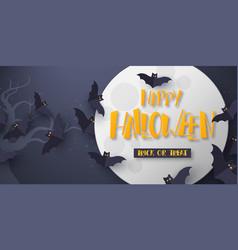 halloween - graveyard vector image