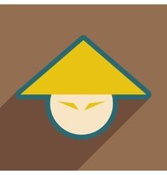 Japanese hats vector