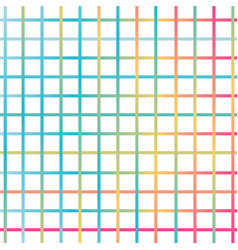 Seamless geometric grunge striped colorful lines vector