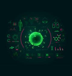 virusbiology vector image