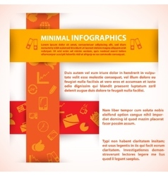 Modern Design template can be used for vector image vector image