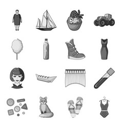 transport recreation animal and other web icon vector image vector image