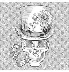 day of the dead baron samedi image vector image