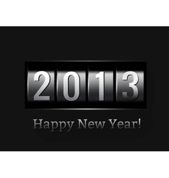 New Year counter 2013 vector image