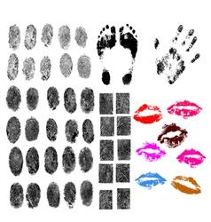 50 BodyParts vector image
