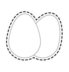 Chicken eggs icon image vector