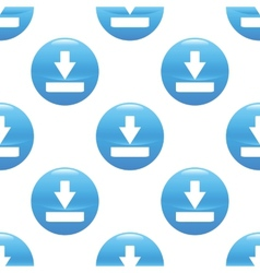 Download sign pattern vector image