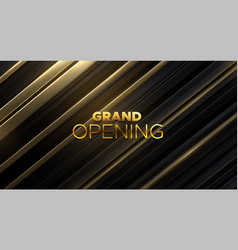 grand opening business startup open ceremony vector image