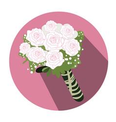 isolated wedding object vector image