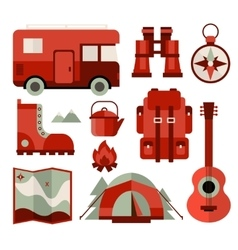 Mountain Climbing Hiking Climbing and Camping vector image