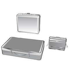 Suitcases vector