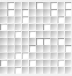 white geometric texture background for cover vector image