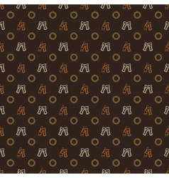 Beer pattern - alcohol seamless texture vector image vector image