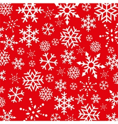 Christmas Snowflakes abstract background vector image
