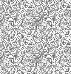 Decorative abstract pattern vector image vector image