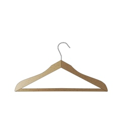 Wooden hanger isolated on white background A vector image vector image