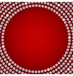 Abstract beautiful diamond background vector