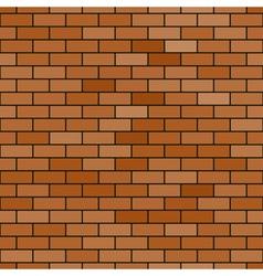 Abstract brick pattern vector