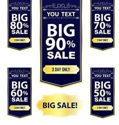 Big Sale Best offer badge sticker label or tag vector