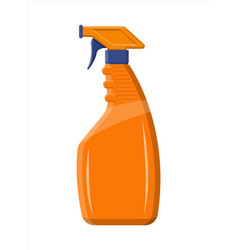 Bottle with liquid detergent vector