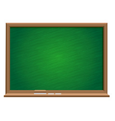 Green blackboard vector