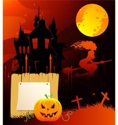 Halloween back vector