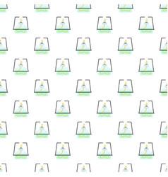 lab burner pattern seamless vector image