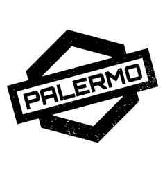 Palermo rubber stamp vector